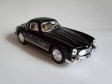 1954 mercedes-benz 300 sl coupé negro, modelo de coche aprox. 1:36