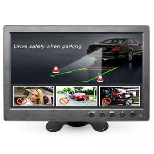 MONITOR 10.1 POLLICI LCD HDMI PER VIDEOSORVEGLIANZA VGA FULL HD BNC PER AUTO