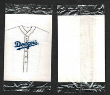 1994 Kellogg's Mini-Jerseys Cereal Inserts, Los Angeles Dodgers, 'Mystery' Pack