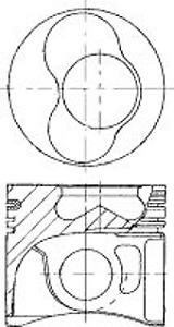 87-114900-65 Volkswagen ATD , AVB ,1.9PDI 79.50mm Std