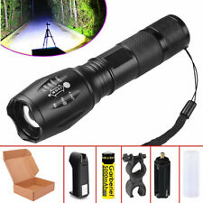 Ultrafire G700 Tactical Zoomable T6 LED Flashlight Military Grade Torch +Battery