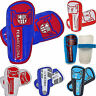FOOTBALL FC CLUB SLIP ON SHINPADS KIDS YOUTH & BOYS  PROTECTION SHIN PADS GUARDS