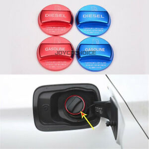 Gas and Diesel Fuel Tank Cap Cover For BMW F20 F10 F15 F16 F30 F34 F48 G30 X5 X6