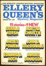 Ellery Queen's Mystery Magazine-01/71-John D. MacDonald, Christie, Gerald Kersh