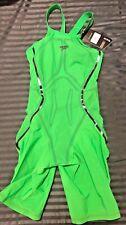 NEW - Speedo Fastskin LZR Racer X ClosedBack Green Women's Size 25 *Clearance!!*