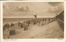Wittdün auf Amrum, Strand, Strandkorb, alte Ansichtskarte um 1925