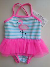 'FLAMINGO' BABY GIRL TUTU BATHERS SWIMWEAR CLOTHES SIZE 000 FITS 0-3M *BRAND NEW