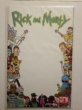 Rick and Morty #35 Scorpion Comics Blank Variant 500 Print Run