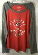 Carolina Hurricanes NHL Licensed Long Sleeve T-Shirt NEW Plus SZ1