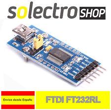 FT232 Original FTDI USB a TTL UART Conversor Serial 3,3-5V Arduino miniUSB C0014