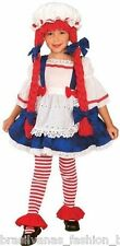 Rag Doll Girl Halloween Costume (Size 2-4) Fantasia Boneca