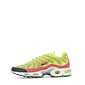 Nike Air Max Plus SE Tuned Women's Trainers Shoes Sneakers Volt / Black
