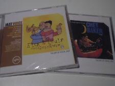 JAZZ. .ELLA FITZERALD & LUIS ARMSTRONG - CHET BAKER. (2 CDS NUEVOS)