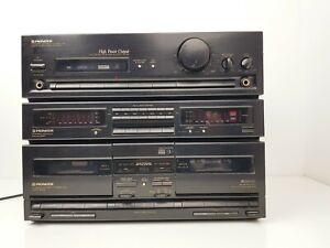 Vintage Pioneer DC-Z83 Stereo Double Cassette Deck Amplifier