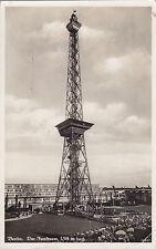 Ak Berlin. Funkturm um 1935 nach Leipzig. RLB Luftschutz Stempel.