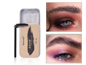 Eyebrow Shaping Soap Long Lasting Eye Brow Makeup Styling Gel Wax with Brush UK.