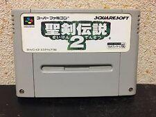 Seiken Densetsu 2 Super Famicom Japan NTSC-J Nintendo Squaresoft Secret of Mana