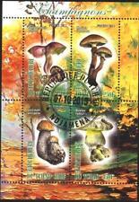 Chad Tchad Used S/S Flora Mushrooms 2013  avdpz