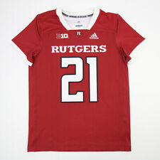 Rutgers Scarlet Knights adidas Game Jersey - Other Men's Red New without Tags
