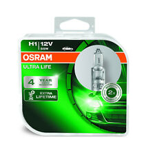 2x Renault Vel Satis Genuine Osram Ultra Life High Main Beam Headlight Bulbs