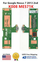 WOW For Google Asus Nexus 7 2nd Gen K008 ME571K 60NK0080-SU1 USB Charging Board