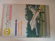 ** Aviation International n°787 Cant Z 1007 / Farnborough 1980 / Heinkel HE 70