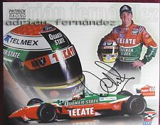 AUTOGRAPHED COLOR  PHOTO>INDY CAR DRIVER >ADRIAN FERNANDEZ