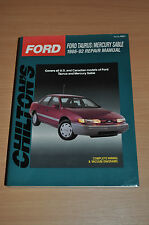 Chilton Reparaturanleitung FORD TAURUS MERCURY SABLE 1986-92,Owner´s Manual 8251