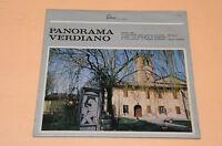 PANORAMA VERDIANO  LP-CLASSICA FONTANA ITALY  LAMINATA AUDIOFILI TOP  NM
