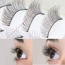 10Pairs Natural Fashion Eyelashes Eye Makeup Handmade Long False Lashes Sparse