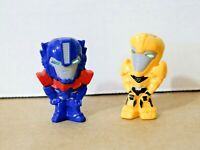 Transformers BUMBLEBEE + OPTIMUS PRIME Nestle Cereal Figure / Toy - Near Mint