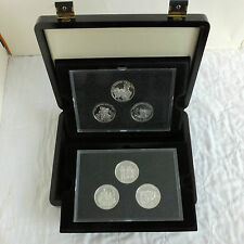 GUERNSEY 2010 NATIONAL SERVICE 6 X £5 SILVER PROOF SET - boxed