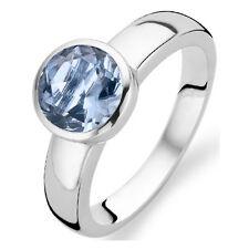 NEW Genuine Ti Sento Sterling Silver Blue CZ set ring 1616TA Size 54 £65