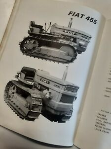 The new Range of Fiat tractors Dealers information book Mod 450 550 650 900 455