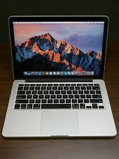 """Apple 2015 MacBook Pro 13"""" Retina / 2.7Ghz i5 / 8GB / 128GB SSD Warranty"""