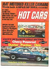 Hot cars jan 1974 motion camaro-chevelle-hot street machines-pro vega