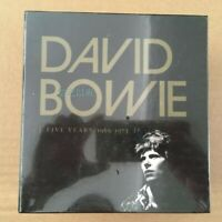 David Bowie Five Years 1969-1973 12CD Boxed