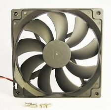 140mm 25mm Case Fan 110V 115V 120V AC 74 CFM Cooling Kit Sleeve Cabinet  1324*