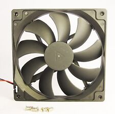 140mm 25mm New Fan 110V 115V 120V AC 74 CFM Cooling Kit Sleeve Cabinet  1324*