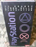 GRANDE LIBRO DELLA SONY PLAYSTATION 1 ENCICLOPEDIA GUIDA STORIA GIOCHI + CD DEMO