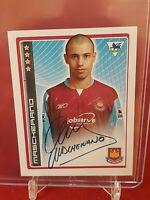 Javier Mascherano West Ham Premier League 2007 Merlin Rookie Sticker