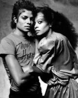 Michael Jackson Diana Ross 8x10 Photo (MJ-25)