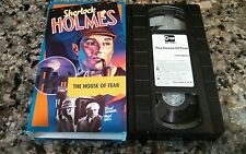 SHERLOCK HOLMES THE HOUSE OF FEAR 1944 RARE OOP VHS TAPE KEY VIDEO