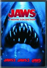 Jaws 3 Movie Collection New Dvd All 3 Sequels Jaws 2 3 4 The Revenge