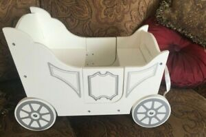 Pottery Barn Kids Royal Doll Carriage Toy Wooden NLA