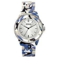 Orologio Watch Versus Versace SOF04-0014 Tokyo Policarbonato Nero Bianco Azzurro