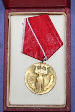Vintage Bulgarian Socialist 25 year jubilee People's authority medal