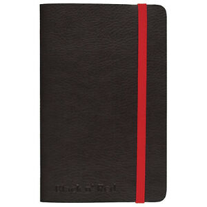 Black n' Red 3 x 5 Casebound Soft Cover Journal Notebook, Small, 71 Sheet