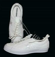 Converse One Star Winter White After Party Sparkle Glitter Ox Shoes Wm's 8.5 NWT