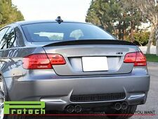 07-13 BMW E92 New P Style Carbon Fiber Trunk Spoiler Lip  2Dr 320i 328i 335i M3